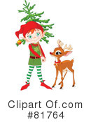 Royalty-Free (RF) Christmas Clipart Illustration #81764