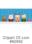 Royalty-Free (RF) christmas Clipart Illustration #82892