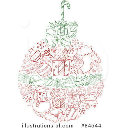 Christmas Stocking Clipart #84544 by BNP Design Studio