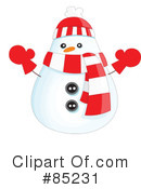 Royalty-Free (RF) christmas Clipart Illustration #85231