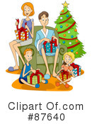 Royalty-Free (RF) Christmas Clipart Illustration #87640