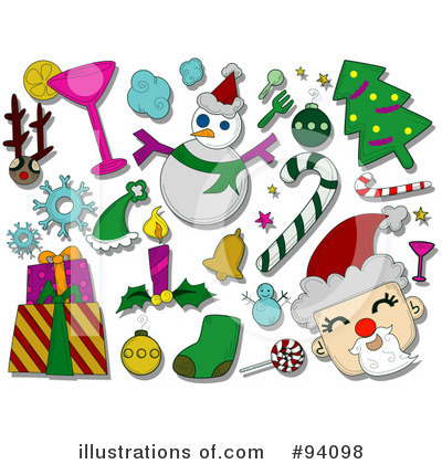 Candy Cane Clipart #94098 by BNP Design Studio