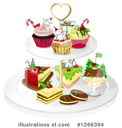 Christmas Pudding Clipart #1266394 by Graphics RF
