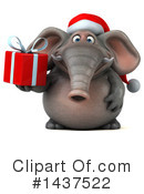 Christmas Elephant Clipart #1437522