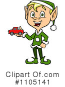 Christmas Elf Clipart #1105141