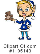 Christmas Elf Clipart #1105143