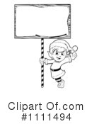 Royalty-Free (RF) Christmas Elf Clipart Illustration #1111494