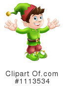 Christmas Elf Clipart #1113534