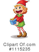 Christmas Elf Clipart #1115235