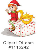 Christmas Elf Clipart #1115242