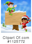 Royalty-Free (RF) Christmas Elf Clipart Illustration #1125772