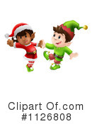 Christmas Elf Clipart #1126808 by AtStockIllustration