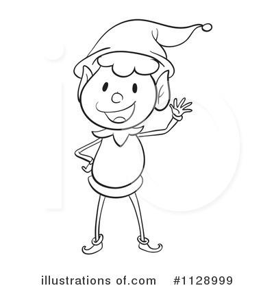 African American Christmas Elf Boy Stock Vector (Royalty Free) 709556065