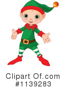 Christmas Elf Clipart #1139283 by Pushkin
