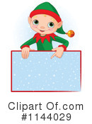 Royalty-Free (RF) Christmas Elf Clipart Illustration #1144029