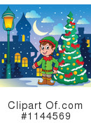 Christmas Elf Clipart #1144569