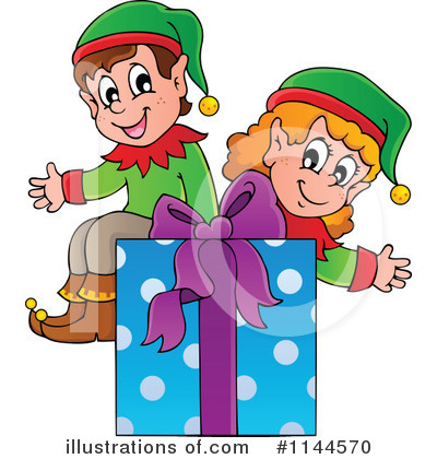 Christmas Gift Clipart #1144570 by visekart