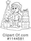 Christmas Elf Clipart #1144581