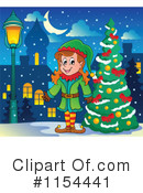 Christmas Elf Clipart #1154441