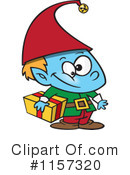 Royalty-Free (RF) Christmas Elf Clipart Illustration #1157320