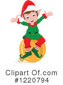 Christmas Elf Clipart #1220794 by Pams Clipart