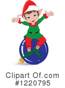 Christmas Elf Clipart #1220795 by Pams Clipart