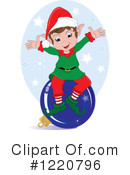 Christmas Elf Clipart #1220796 by Pams Clipart