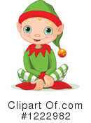 Christmas Elf Clipart #1222982