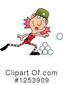 Christmas Elf Clipart #1253909 by Cory Thoman