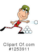 Christmas Elf Clipart #1253911 by Cory Thoman