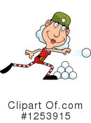 Christmas Elf Clipart #1253915 by Cory Thoman