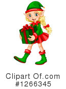 Royalty-Free (RF) Christmas Elf Clipart Illustration #1266345