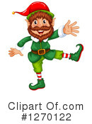 Christmas Elf Clipart #1270122 by Graphics RF
