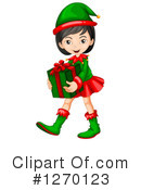 Royalty-Free (RF) Christmas Elf Clipart Illustration #1270123