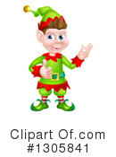 Christmas Elf Clipart #1305841