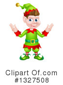 Christmas Elf Clipart #1327508