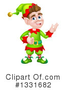 Christmas Elf Clipart #1331682