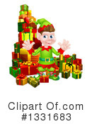 Christmas Elf Clipart #1331683