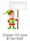 Christmas Elf Clipart #1341555