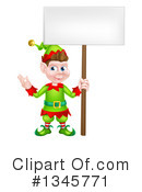 Christmas Elf Clipart #1345771