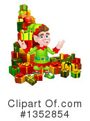 Christmas Elf Clipart #1352854