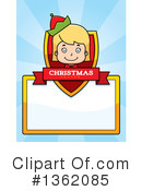 Christmas Elf Clipart #1362085 by Cory Thoman