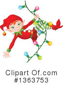 Christmas Elf Clipart #1363753 by Pushkin