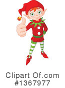 Christmas Elf Clipart #1367977