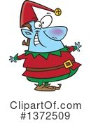 Christmas Elf Clipart #1372509
