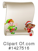 Christmas Elf Clipart #1427516