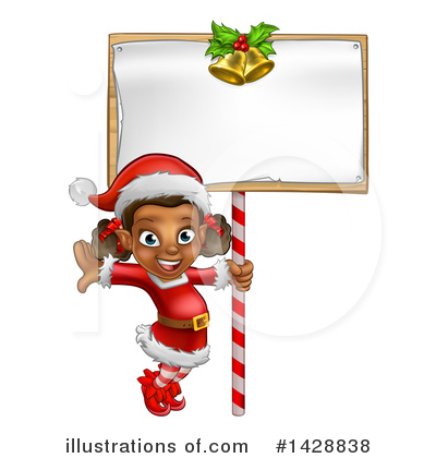 Christmas Elf Clipart #1428838 by AtStockIllustration