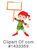 Royalty-Free (RF) Christmas Elf Clipart Illustration #1433359