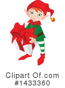 Christmas Elf Clipart #1433360