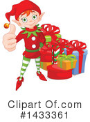 Christmas Elf Clipart #1433361